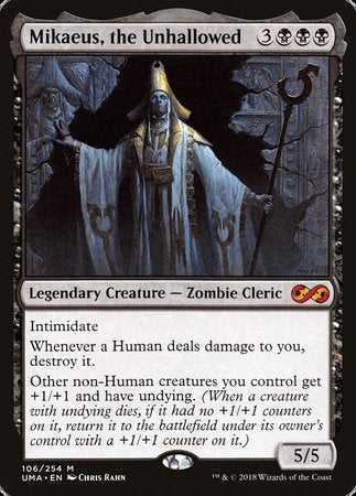 Mikaeus, the Unhallowed [Ultimate Masters] | Eastridge Sports Cards & Games