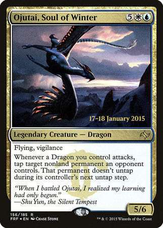Ojutai, Soul of Winter [Fate Reforged Promos] | Eastridge Sports Cards & Games