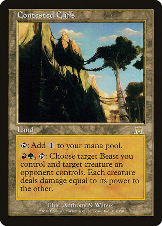 Contested Cliffs [Onslaught] | Eastridge Sports Cards & Games