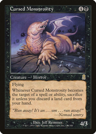 Cursed Monstrosity [Odyssey] | Eastridge Sports Cards & Games