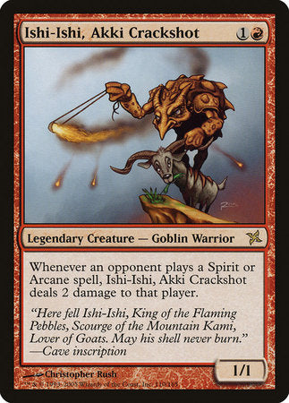 Ishi-Ishi, Akki Crackshot [Betrayers of Kamigawa] | Eastridge Sports Cards & Games