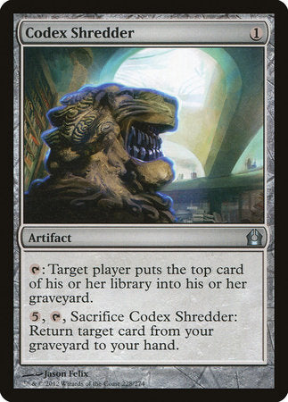 Codex Shredder [Return to Ravnica] | Eastridge Sports Cards & Games