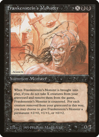 Frankenstein's Monster [The Dark] | Eastridge Sports Cards & Games
