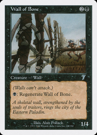 Wall of Bone [Seventh Edition] | Eastridge Sports Cards & Games