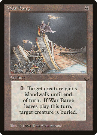 War Barge [The Dark] | Eastridge Sports Cards & Games