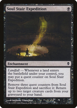 Soul Stair Expedition [Zendikar] | Eastridge Sports Cards & Games