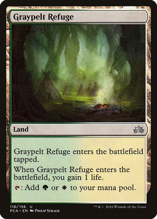 Graypelt Refuge [Planechase Anthology] | Eastridge Sports Cards & Games