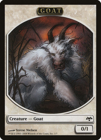 Goat Token [Eventide Tokens] | Eastridge Sports Cards & Games
