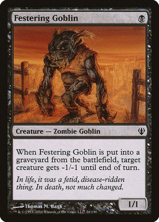 Festering Goblin [Archenemy] | Eastridge Sports Cards & Games