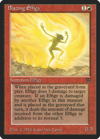 Blazing Effigy [Legends] | Eastridge Sports Cards & Games