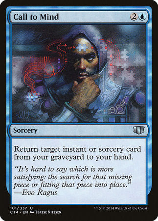 Call to Mind [Commander 2014] | Eastridge Sports Cards & Games