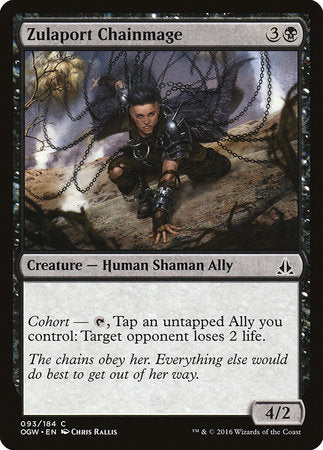 Zulaport Chainmage [Oath of the Gatewatch] | Eastridge Sports Cards & Games