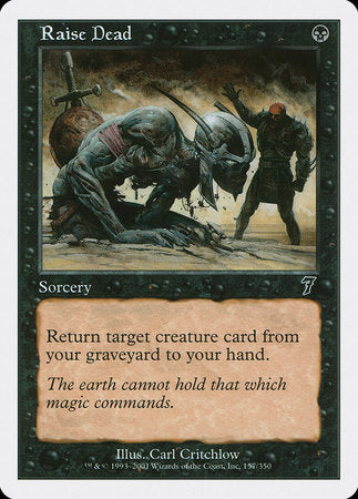 Raise Dead [Seventh Edition] | Eastridge Sports Cards & Games