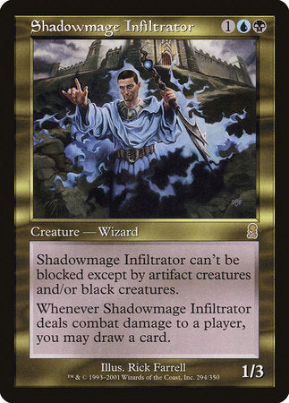 Shadowmage Infiltrator [Odyssey] | Eastridge Sports Cards & Games
