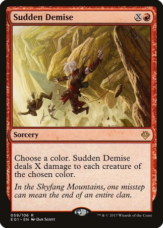 Sudden Demise [Archenemy: Nicol Bolas] | Eastridge Sports Cards & Games