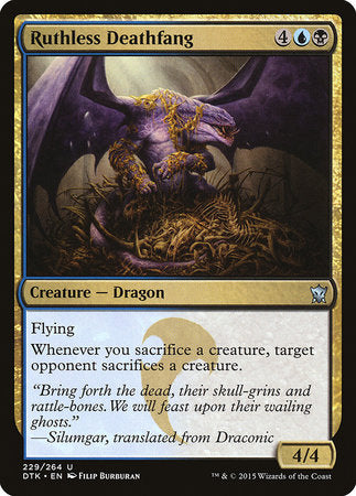 Ruthless Deathfang [Dragons of Tarkir] | Eastridge Sports Cards & Games