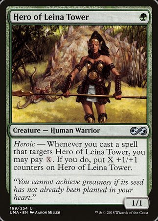 Hero of Leina Tower [Ultimate Masters] | Eastridge Sports Cards & Games