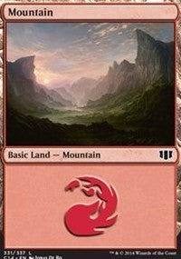 Mountain (331) [Commander 2014] | Eastridge Sports Cards & Games