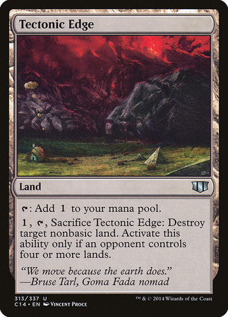 Tectonic Edge [Commander 2014] | Eastridge Sports Cards & Games