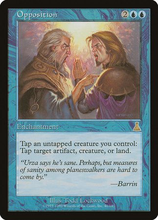 Opposition [Urza's Destiny] | Eastridge Sports Cards & Games
