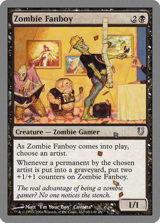 Zombie Fanboy [Unhinged] | Eastridge Sports Cards & Games