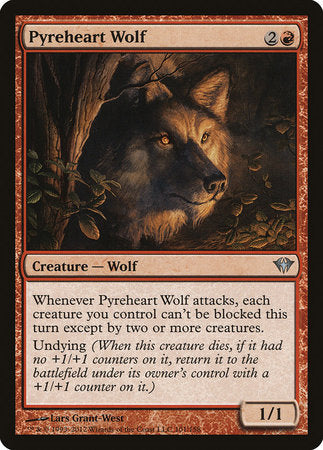 Pyreheart Wolf [Dark Ascension] | Eastridge Sports Cards & Games