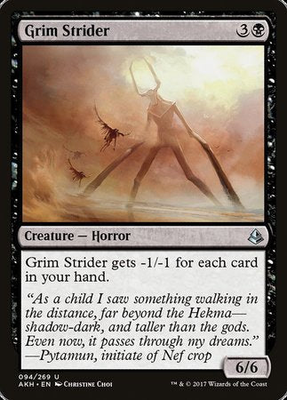 Grim Strider [Amonkhet] | Eastridge Sports Cards & Games