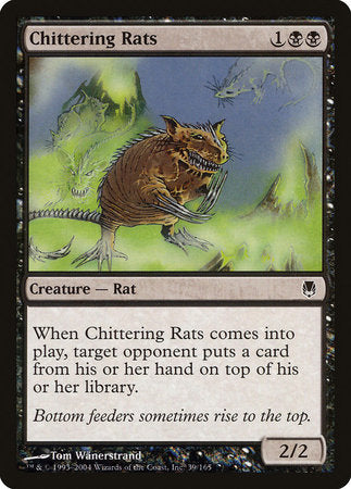 Chittering Rats [Darksteel] | Eastridge Sports Cards & Games