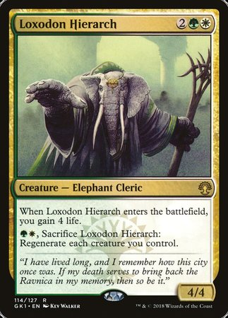 Loxodon Hierarch [GRN Guild Kit] | Eastridge Sports Cards & Games
