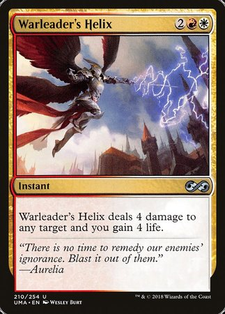 Warleader's Helix [Ultimate Masters] | Eastridge Sports Cards & Games