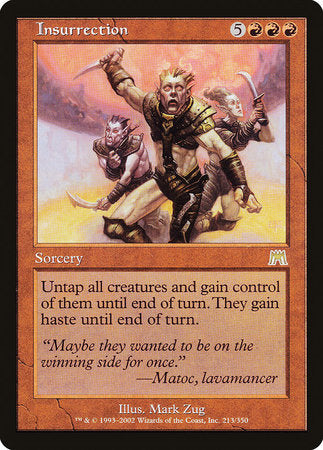 Insurrection [Onslaught] | Eastridge Sports Cards & Games