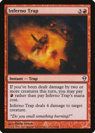 Inferno Trap [Zendikar] | Eastridge Sports Cards & Games