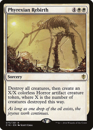 Phyrexian Rebirth [Commander 2016] | Eastridge Sports Cards & Games