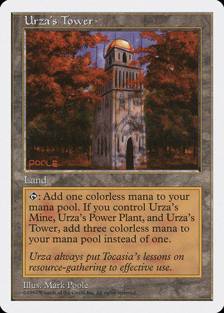 Urza's Tower [Fifth Edition] | Eastridge Sports Cards & Games