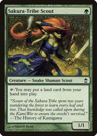 Sakura-Tribe Scout [Saviors of Kamigawa] | Eastridge Sports Cards & Games