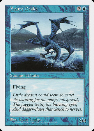 Azure Drake [Fifth Edition] | Eastridge Sports Cards & Games