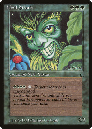 Niall Silvain [The Dark] | Eastridge Sports Cards & Games