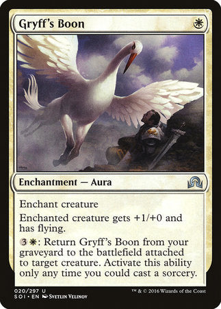 Gryff's Boon [Shadows over Innistrad] | Eastridge Sports Cards & Games