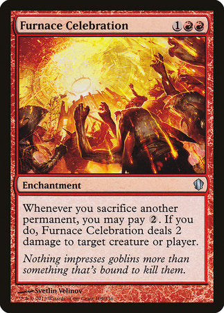 Furnace Celebration [Commander 2013] | Eastridge Sports Cards & Games