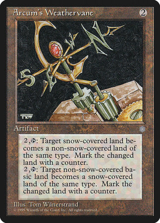 Arcum's Weathervane [Ice Age] | Eastridge Sports Cards & Games
