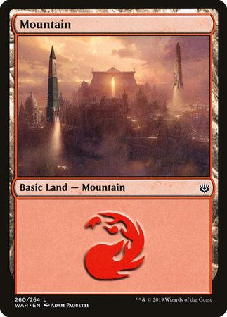 Mountain (260) [War of the Spark] | Eastridge Sports Cards & Games
