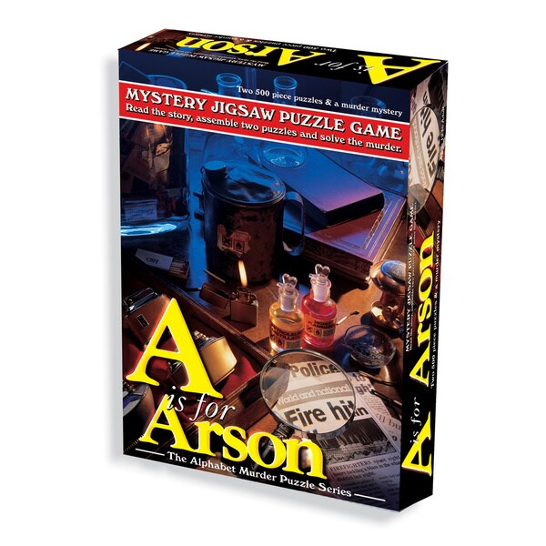 A is for Arson | Eastridge Sports Cards & Games
