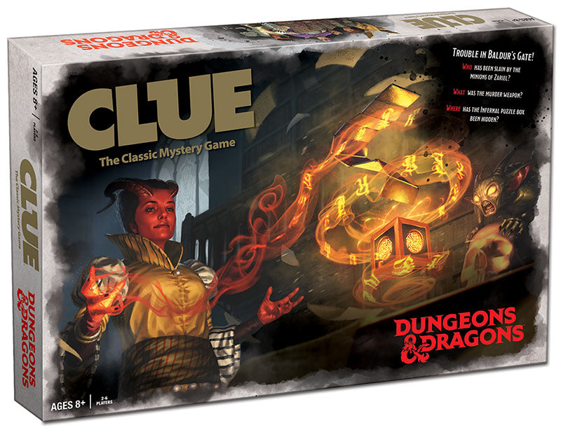 Clue - Dungeons & Dragons Edition | Eastridge Sports Cards & Games