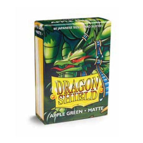 Dragon Shield Sleeves: Japanese Matte Apple Green (Box Of 60) | Eastridge Sports Cards & Games
