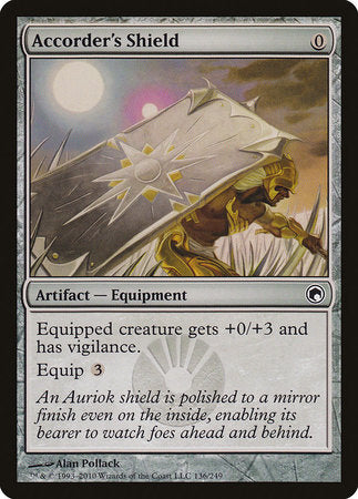 Accorder's Shield [Scars of Mirrodin] | Eastridge Sports Cards & Games