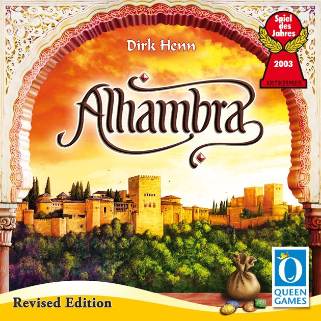Alhambra: Revised Edition | Eastridge Sports Cards & Games