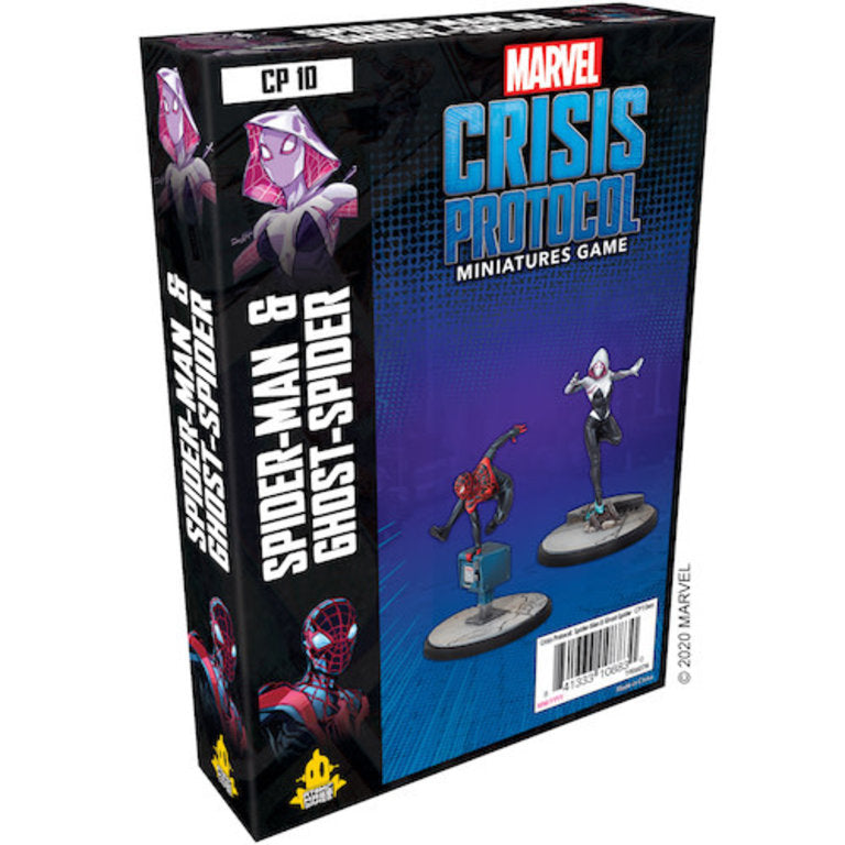 Marvel: Crisis Protocol - Spider-Man and Ghost-Spider Character Pack | Eastridge Sports Cards & Games
