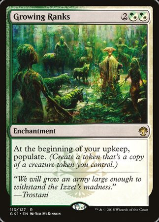 Growing Ranks [GRN Guild Kit] | Eastridge Sports Cards & Games