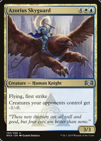Azorius Skyguard [Ravnica Allegiance] | Eastridge Sports Cards & Games