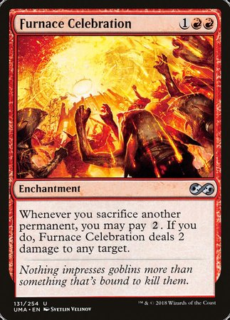 Furnace Celebration [Ultimate Masters] | Eastridge Sports Cards & Games
